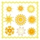 Collection of the Suns - GraphicRiver Item for Sale