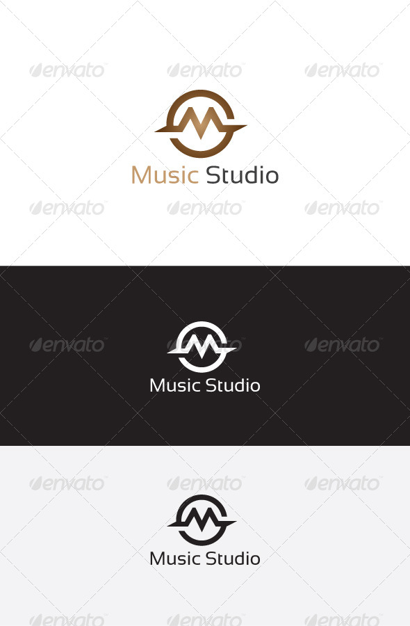 GraphicRiver M Letter Logo Template 6262944