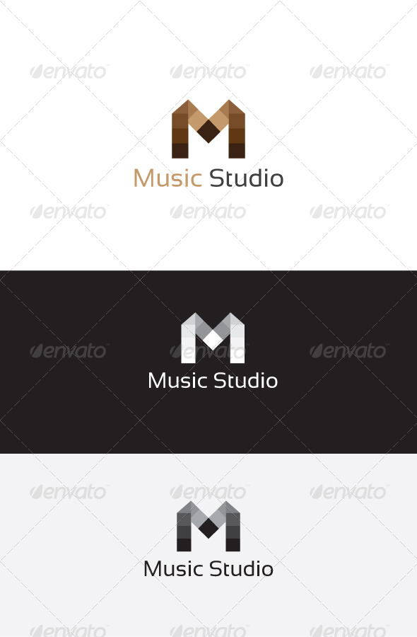 GraphicRiver M Letter Logo Template 6262959