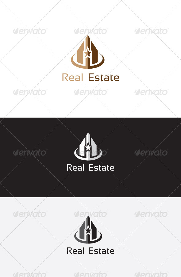 GraphicRiver Star Real Estate Logo 6262998