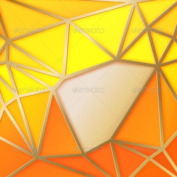 GraphicRiver Triangles in Gold 6263947