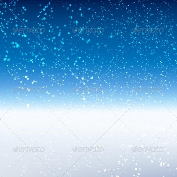 GraphicRiver Winter Background 6263979