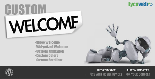 CodeCanyon Lycaweb Custom Welcome Premium 6264020