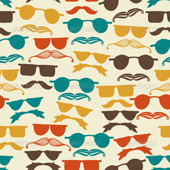 GraphicRiver Vector Seamless Hipster Pattern 6264125
