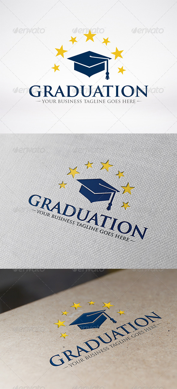 GraphicRiver Graduate Logo Template 6264142