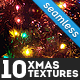 10 Christmas and Winter Textures - GraphicRiver Item for Sale