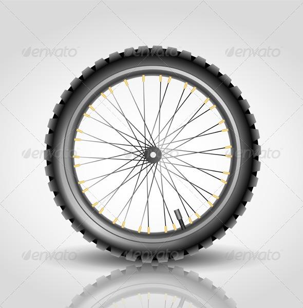 GraphicRiver Bike Wheel 6264962