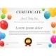 Glossy Balloons Certificate - GraphicRiver Item for Sale