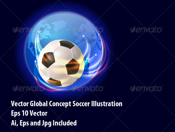 GraphicRiver Soccer World 6265221