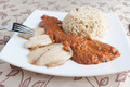 Fried grouper with sauce and rice - PhotoDune Item for Sale