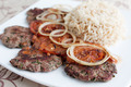 Cutlets with rice - PhotoDune Item for Sale