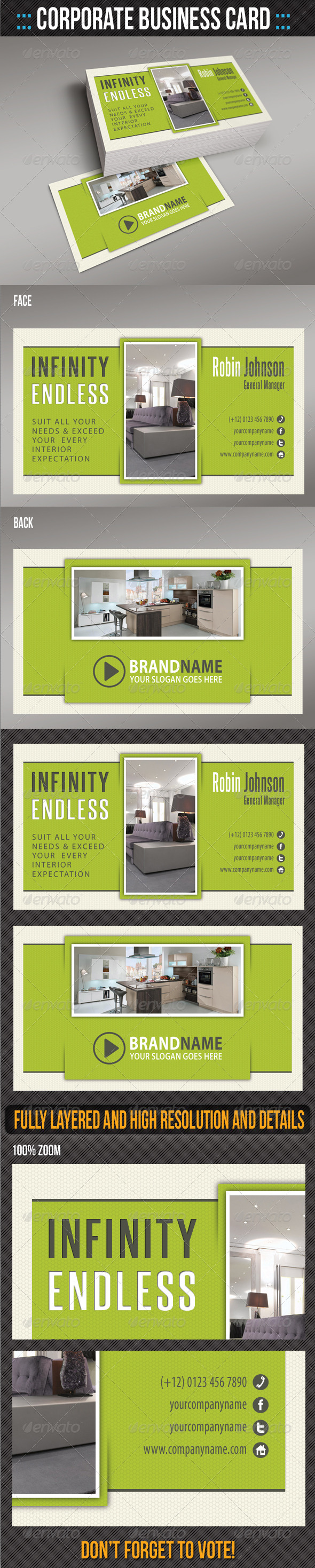 GraphicRiver Corporate Business Card 04 6242811