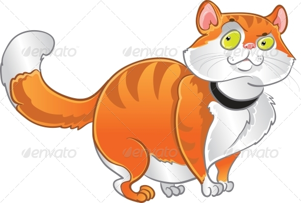 GraphicRiver Orange Fat Cat 6265552