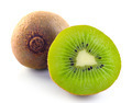 Juicy kiwi fruit isolated on white background - PhotoDune Item for Sale
