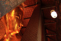 Reclining Buddha gold statue - PhotoDune Item for Sale