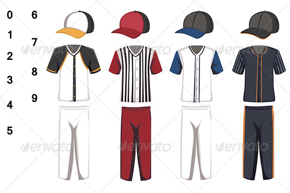 GraphicRiver Baseball Jersey 6267308