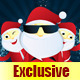 Santa Mascot Set  - GraphicRiver Item for Sale