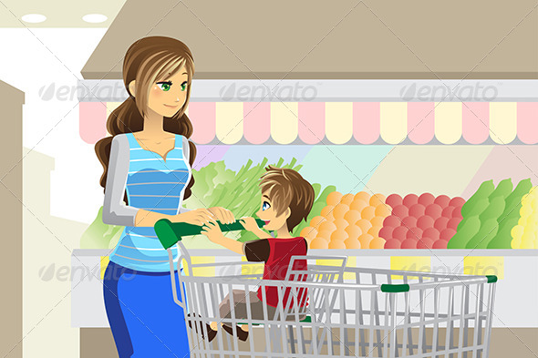 GraphicRiver Grocery Shopping 6267448