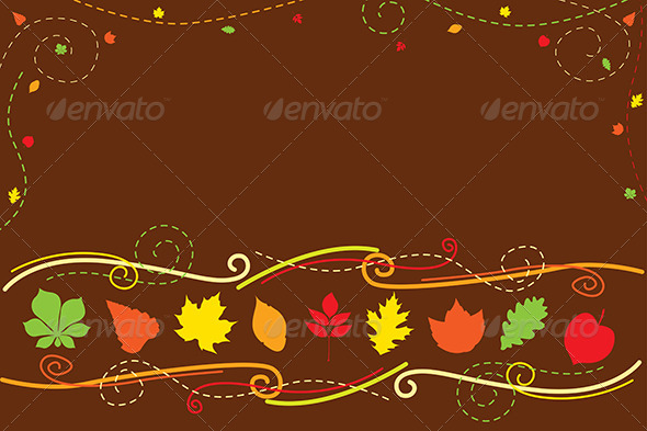 GraphicRiver Autumn Background 6267598