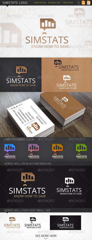GraphicRiver Simstats Logo 6268210