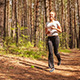 Women Jogging in Park  - VideoHive Item for Sale