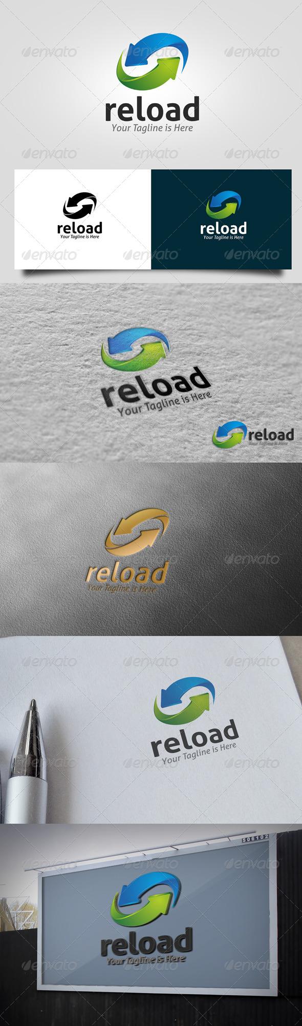 GraphicRiver Reload Logo 6268669