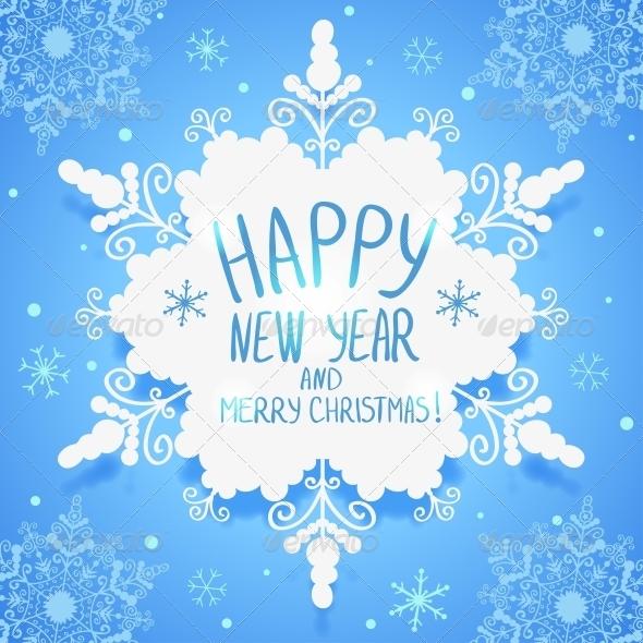 GraphicRiver Snowflake Wallpaper 6269155
