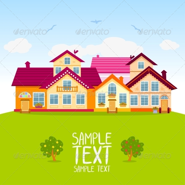 GraphicRiver Houses 6269301