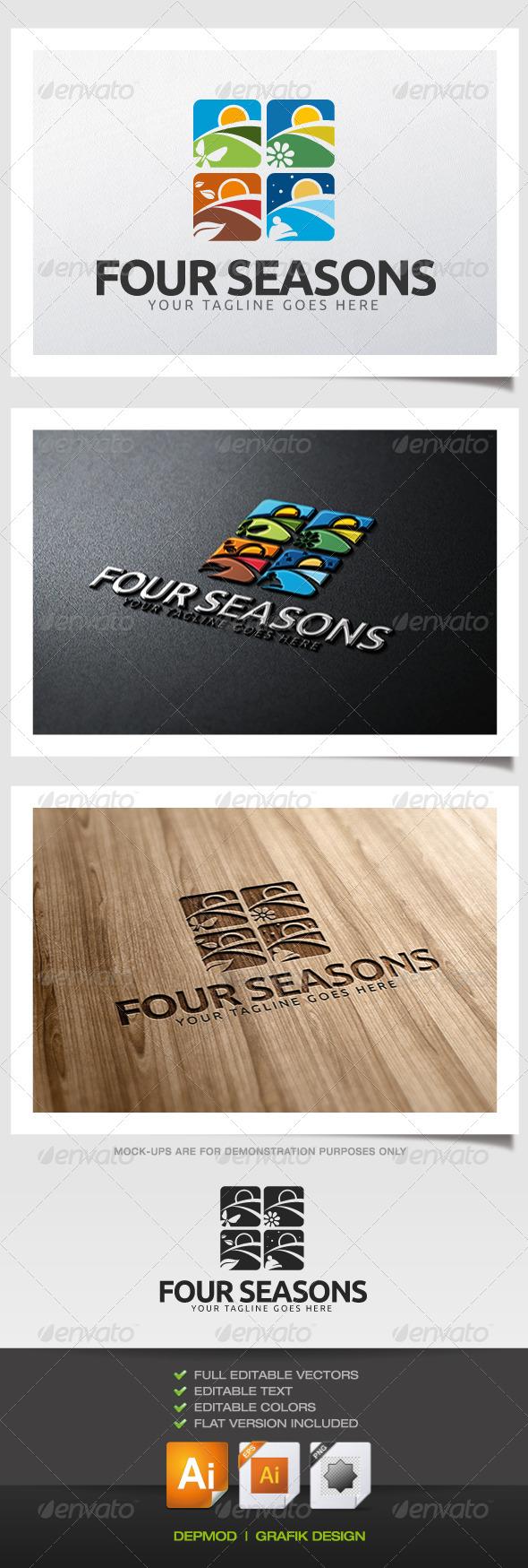 GraphicRiver Four Seasons Logo 6270257