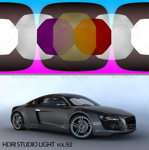 3DOcean HDRI Light 92 6270304