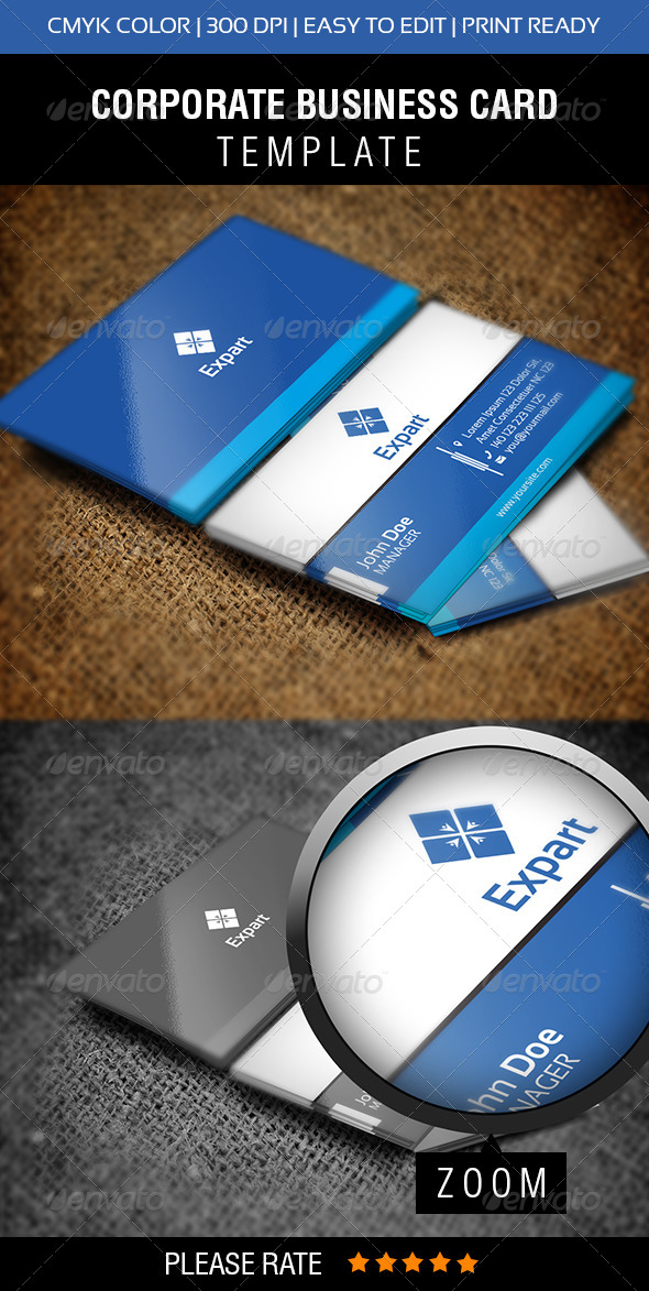 GraphicRiver Expert Business Card 6270306