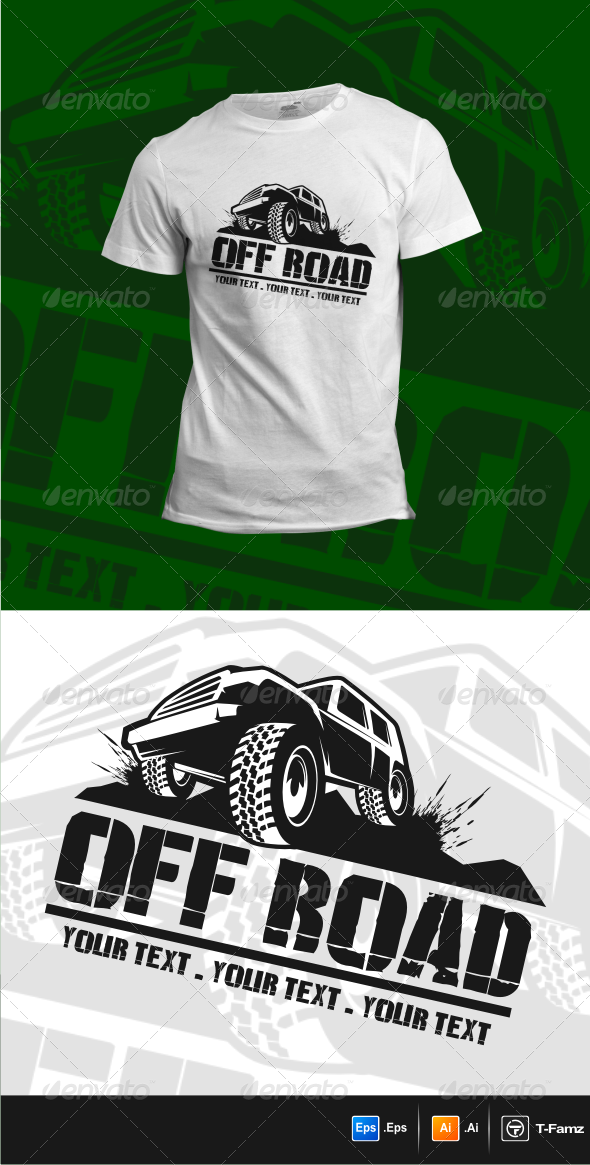 GraphicRiver Off Road T-Shirts 6270339