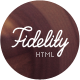 Fidelity - Photography HTML5/CSS3 Template - ThemeForest Item for Sale