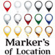 Markers of Location - GraphicRiver Item for Sale