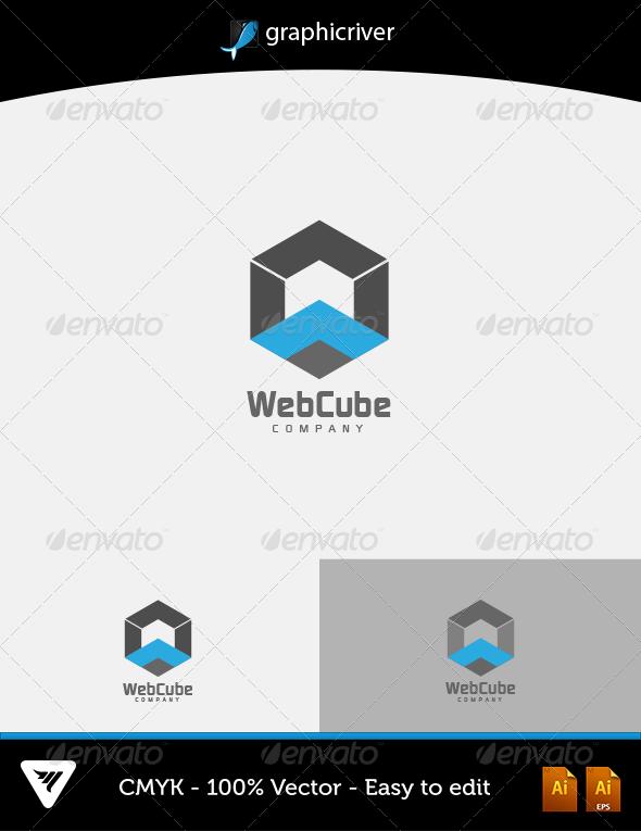 GraphicRiver Web Cube Logo 6273274