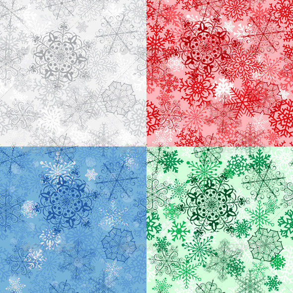 GraphicRiver Christmas Seamless Patterns 6274208