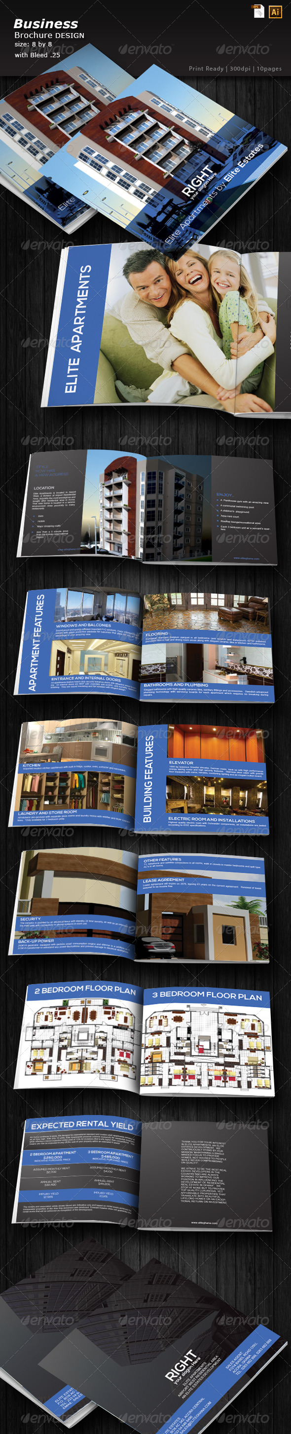 GraphicRiver Architecture Portfolio Brochure 6274273
