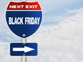 Black Friday road sign - PhotoDune Item for Sale