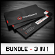 Business Cards Bundle #9 - GraphicRiver Item for Sale