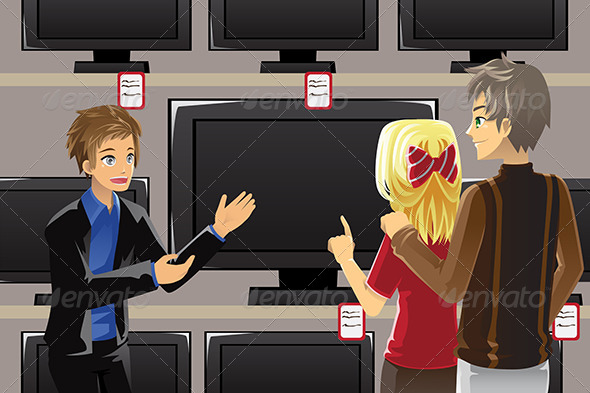 GraphicRiver Buying Television 6276185