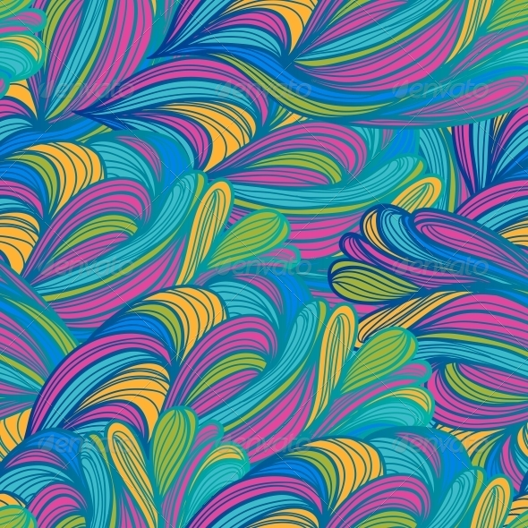 GraphicRiver Seamless Abstract Pattern Waves Background 6276474