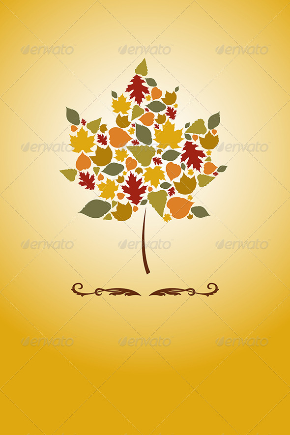 GraphicRiver Autumn Leaves 6276608