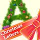 Christmas Letters  - GraphicRiver Item for Sale