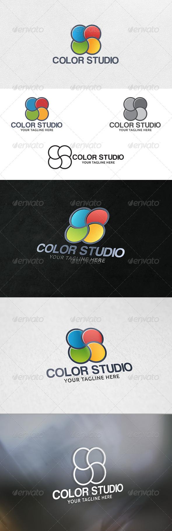 GraphicRiver Color Studio Logo Template 6277043