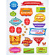 Sales Messages Russian Set - GraphicRiver Item for Sale