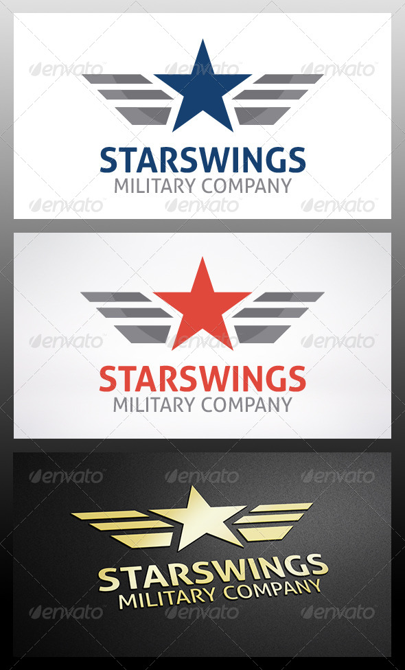 GraphicRiver Military Logo Template 6277681
