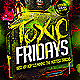 Toxic Hip Hop Flyer Template - GraphicRiver Item for Sale