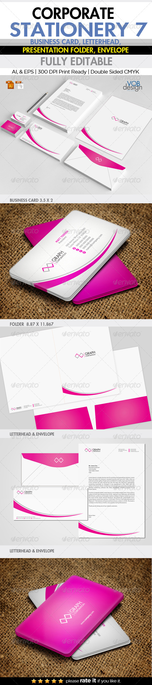 GraphicRiver Corporate Stationery 7 6252405