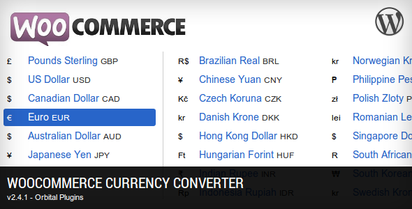 WooCommerce Currency Converter - CodeCanyon Item for Sale