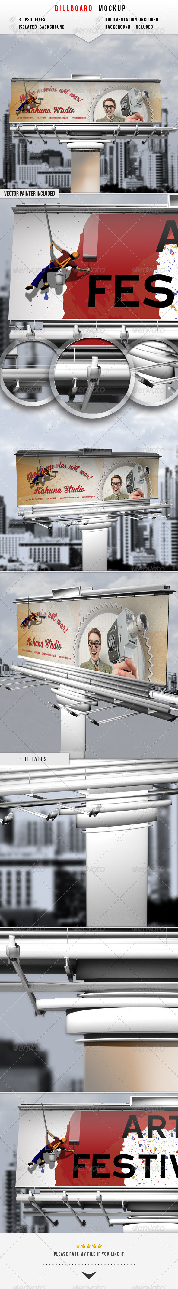 GraphicRiver Billboard Mockup 6274939